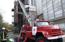 Anykščiuose ir Šalčininkų rajone – gaisrai grūdų džiovyklose