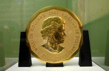 Iš Berlyno muziejaus pavogta 100 kg aukso moneta