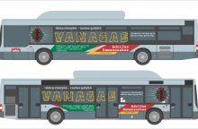 Į Vilniaus gatves išvažiuos partizanų nuotraukomis papuošti autobusai
