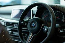 Pareigūnų laimikis – suomio vairuotas vogtas BMW