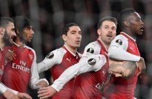 Paaiškėjo Europos futbolo lygos ketvirtfinalio poros