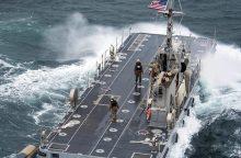 JAV ir Pietų Korėja apsispręs dėl bendrų karinių pratybų