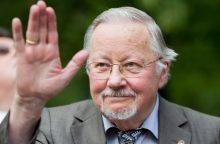 V. Landsbergis: slapstytis už turtingo dėdės buvo gėdingas reikalas