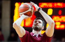 K. Lavrinovičius tęsia šou LKL čempionate