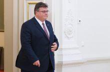 Dėl ministro posto L. Linkevičius paliks partiją