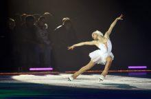 Dailiojo čiuožimo varžybose lietuvės ir ruso duetas – trečioje vietoje