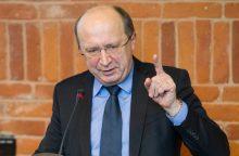 """A. Kubilius: turime stabdyti """"Naisių vasaros"""" metodus politikoje"""