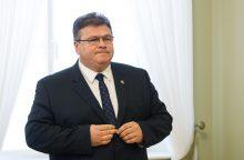 L. Linkevičius sulaukė žinios dėl JAV paramos Lietuvai