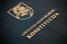 Konstitucijos egzaminas – jau rytoj