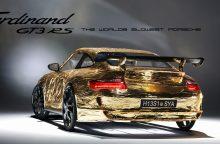 """Lėčiausias pasaulyje """"Porsche"""", kurį aplenkia net dviratininkai"""
