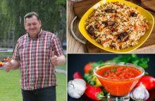 Charakteringi G. Maciulevičiaus vaidmenys virtuvėje <span style=color:red;>(receptai)</span>