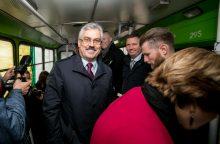 """M. Grigelis grįžta vadovauti """"Kauno autobusams"""""""