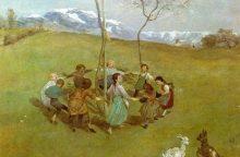 Nacių pagrobtas paveikslas grąžintas savininkams