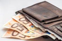 Prognozės: algos kils, produktai ir paslaugos neturėtų stipriai brangti