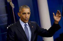 Kadenciją baigiantis B. Obama sutrumpino bausmes šimtams nuteistųjų