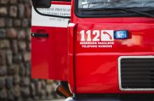 Varėnos rajone kilo gaisras name