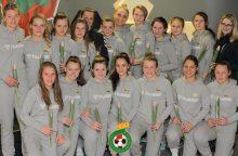 FIFA klasifikacijoje Lietuvos moterų futbolo rinktinė prarado dvi pozicijas
