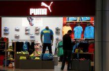 "Futbolo čempionatas leido ""Puma"" vėl dirbti pelningai"