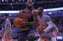 NBA čempionai patyrė trečią pralaimėjimą iš eilės
