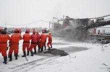 Šiaurės Kinijoje per sprogimą anglių kasykloje žuvo 17 darbininkų