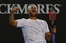 """Netikėtumai tęsiasi: iš """"Australian Open"""" iškrito M. Čiličius ir N. Kyrgiosas"""