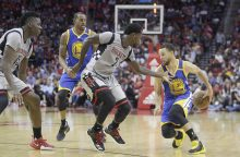 "NBA: ""Warriors"" nugalėjo ""Rockets"""