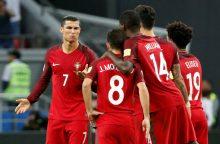 FIFA Konfederacijų taurė: į finalą pateko Čilė