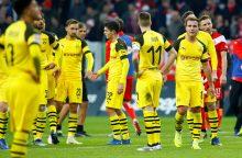 """Bundeslygoje – pirmasis Dortmundo """"Borussia"""" pralaimėjimas"""