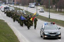 Narystę NATO pažymėjo bėgimu