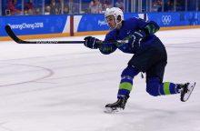 Olimpiadoje pričiuptas dopingą vartojęs Slovėnijos ledo ritulininkas