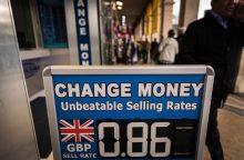 Bankininkai įspėja apie finansinių kompanijų pasitraukimą iš JK