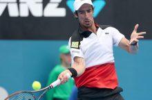 Atrankos turnyro dalyvis Brazilijoje nugalėjo titulą ginantį P. Cuevasą