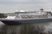 Uostamiestyje – net du kruiziniai laivai