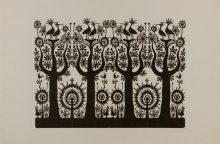 Muziejuje pristatomi J. Daniliauskienės karpiniai
