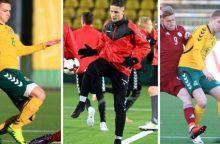 """Daniško futbolo žinių pasisėmę """"Jonavos"""" futbolininkai grįžo iš jaunimo rinktinės"""
