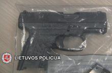 Klaipėdoje paskelbtas nuosprendis ginklo vagystės byloje