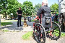 Neįgalieji uostamiestyje turistaus patogiau