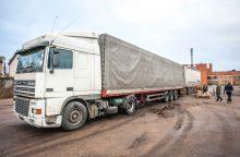Prie vilkiko vairo Klaipėdoje sulaikytas girtas baltarusis