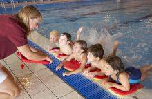 Kūno kultūros ir sporto departamentas: pasirengta vaikų mokymui plaukti