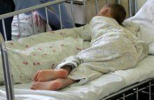 Du girtos ventiškės vaikai išvežti į ligoninę