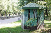 Dėl darbų Poilsio parke ribojo eismą
