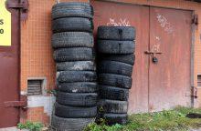 """Pavogtu """"mikriuku"""" užstatė garažą"""