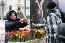Gėlių pardavėjams – septynis kartus didesnis mokestis