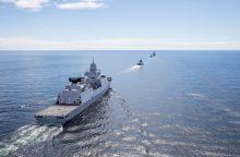 Į uostą atplauks NATO kovinių laivų grupė
