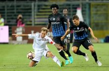 "Italijos futbolo pirmenybėse ""Atalanta"" iškovojo pergalę"