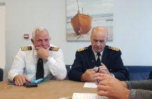 Jūrininkai valdžiai turi priekaištų