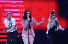 """Į """"Eurovizijos"""" atrankos finalo sceną kelią jau prasiskynė trys atlikėjai"""