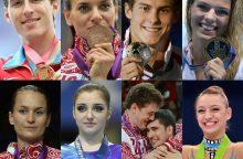 Trys Rusijos sportininkės atgaline data diskvalifikuotos dėl dopingo