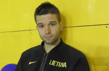 Lietuvos krepšinio rinktinės treniruotė Argentinoje – be dviejų žaidėjų