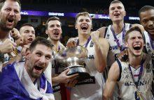 Paskutinieji taškai: galutinė Europos čempionato rikiuotė ir geriausieji